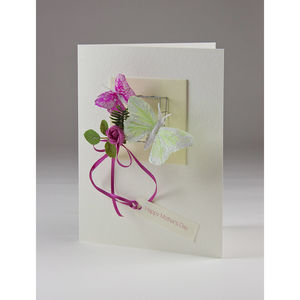 Fluttering By Butterflies - mother's day cards