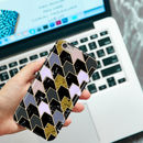 Marble Chevron Phone Case, More Colours
