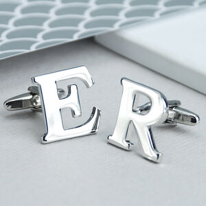 Personalised Alphabet Initial Cufflinks
