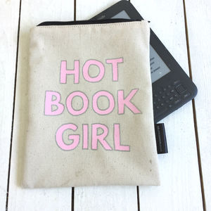 'Hot Book Girl ' Kindle Cover