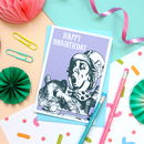 Wonderland Mad Hatter Unbirthday Card