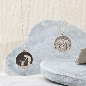 Personalised 'Walk With Me' Dog Lovers Necklace - necklaces