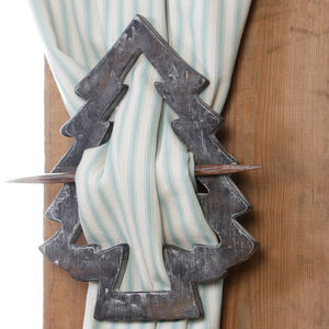 French Alps Curtain Tie