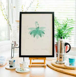 Fern 'Beginning' Screen Print - posters & prints