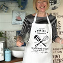 'Watch Me Whip' Apron