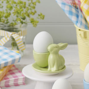 Bunny Egg Cup - easter homeware