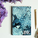Personalised Crystal Print Notebook