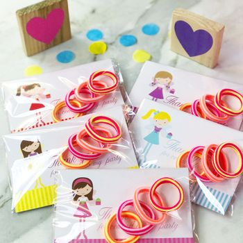 Party Bag Fillers Fairy Cards And Stretchy Bobbles