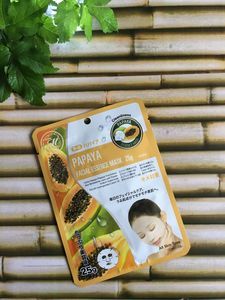 Papaya Sheet Face Mask - skin care