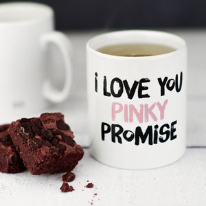 Pinky Promise Mug - new in home