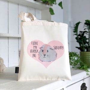 Personalised Guinea Pig Bag, Guinea Pig Gift - view all new