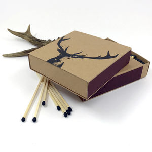 Matchbox Stag - fireplace accessories