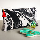 Mono Marble Large Wash Bag