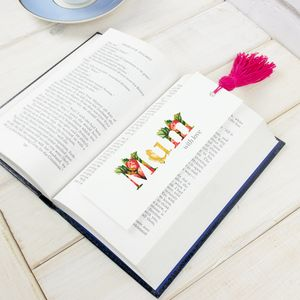 Personalised Mother's Day Tassle Bookmark - bookmarks