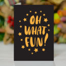 'Oh What Fun' Christmas Card
