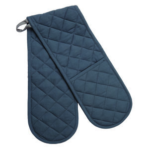 B.C.S. Double Oven Glove. Yellow, Grey Or Rose - oven gloves & mitts