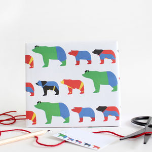 Superhero Wrapping Paper And Gift Tags - wrapping paper