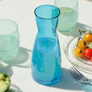 Blue Lagoon Glass Carafe