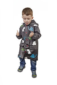 Child's Colour Changing Dino Rain Jacket In Gift Box