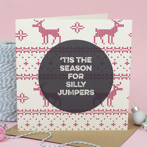 Christmas Jumper Greeting Card