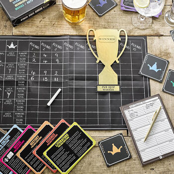 Host Your Own Pub Quiz Game
