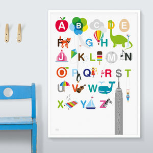 Alphabet Print - prints & art sale