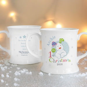 'The Snowdog' My 1st Christmas Loving Mug