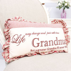 Gift For Grandma Scatter Cushion