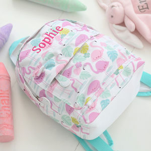 Flamingo Backpack - new in baby & child