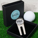 Personalised 'Best Dad Ever' Golf Divot Tool