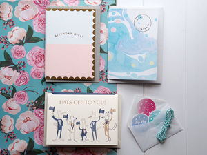 Winter Pastels Stationery Box