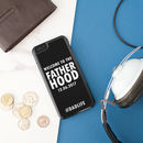 Personalised 'Welcome To The Fatherhood' iPhone Cover