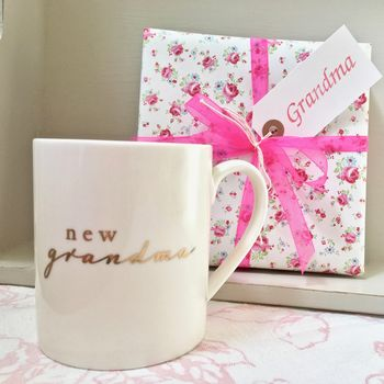 New Grandma Mug ~ Boxed And Gift Wrapped