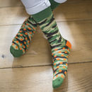 Camouflage Fine Sock