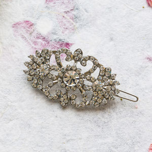 Alanis Crystal Hair Slide