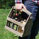 Personalised Summer Barbecue Beer Crate Gift For Him