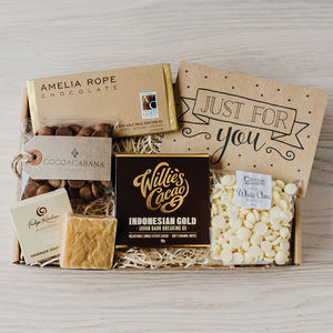'The Chocolate Box' Letterbox Gift Set - novelty chocolates
