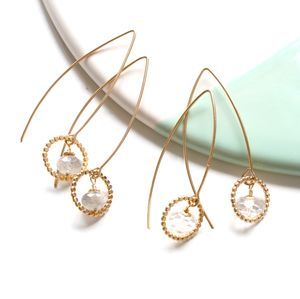 Amelia Long Drop Earrings - earrings