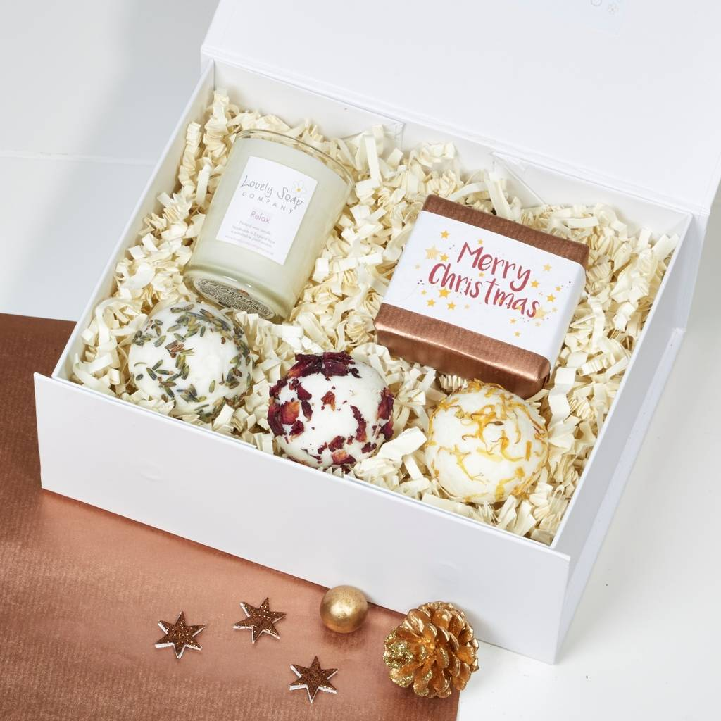 Christmas Stress Less Pamper Gift Set by Lovely Soap Company
