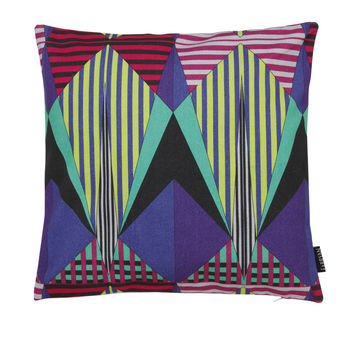 Peacock Azetec Cushion Cover