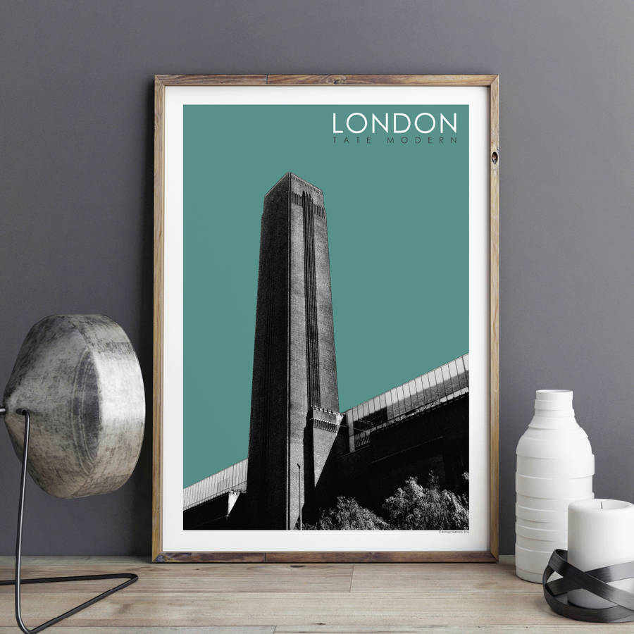 London Wall Art Prints Tate Modern