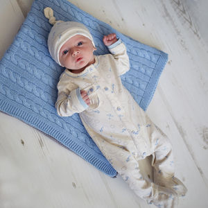 Baby Boys Little Planes Babygrow And Hat Gift Set - new in baby & child