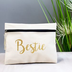 Bestie Make Up Bag