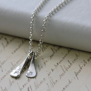 Personalised Blade Pendant - necklaces