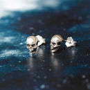 Skull Tiny Sterling Silver Studs
