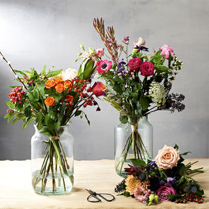 Three Month Flower Bouquet Subscription - 5th anniversary: wood