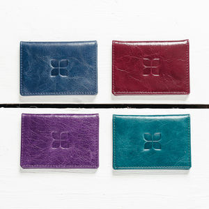 Classic Italian Leather Cardholder Wallet