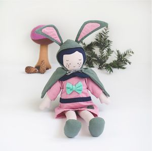 Fair Trade Rose Soft Toy Doll - soft toys & dolls