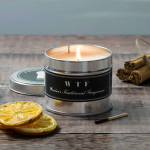 Christmas Scented Wtf Candle - candles & home fragrance
