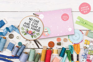 'No One Is You' Cross Stitch Kit